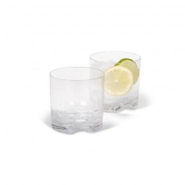 Kampa Pack of Four Polycarbonate Low Tumbler Glasses