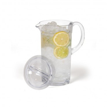 Polycarbonate Tall Drinks Pitcher / Jug with Lid