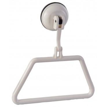 ClingFish Towel Ring / Holder with Screwless Suction Cup Fastening