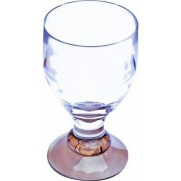 Quest Elegance Polycarbonate Goblet 'Glass' - Smoked