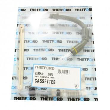 Thetford Cassette Toilet C2 & C4 range Drain Tube (Left Hand) - Part 21370