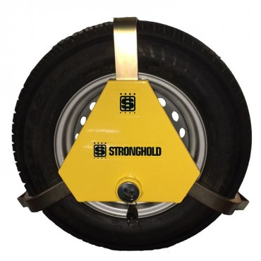 """Stronghold Apex Triangular Sold Secure Wheel Clamp for 12 - 13"""" Wheels"""