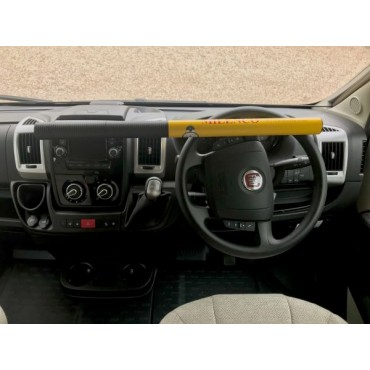 Milenco Commercial Steering Wheel Lock - Sold Secure Gold