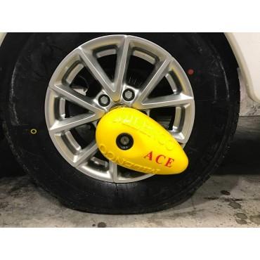 Milenco Ace Caravan Wheel Clamp Fits Alloy And Steel Wheels