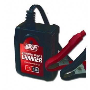 Maypole Fully Automatic 12V Battery Trickle Charger