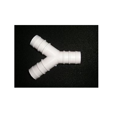 """Water Pipe - 1/2"""" 12mm Barbed 'Y' Piece"""
