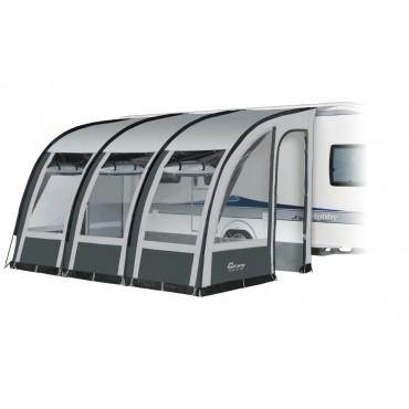 Dorema Magnum 390 Lightweight Caravan Poled Porch Awning - Grey