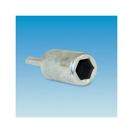 Awning Screw-In Thread Steel Peg Adaptor