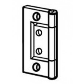 "Flush Hinges 1½"" (38mm). Brass finish"