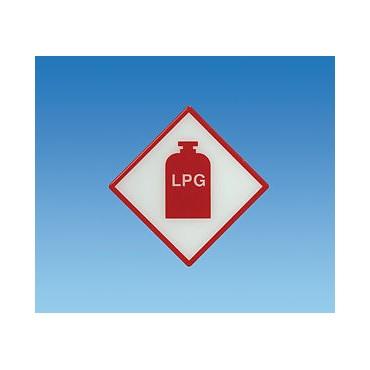 Gas Box Tufflex Lpg Gas Sticker