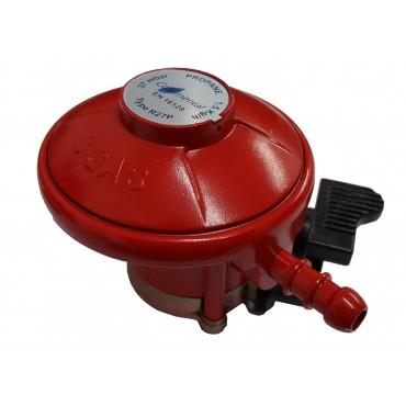 Barbecue Patio Gas Regulator - 27mm Clip-On Propane Regulator 37mbar