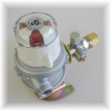 Cavagna Fixed Gas Changeover Regulator 8mm
