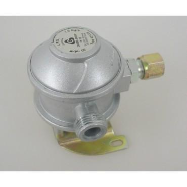 Cavagna Fixed Gas Bulkhead Regulator 90° 10MM