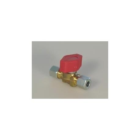 Cavagna One (1) Way Gas Manifold / Cut-off Tap