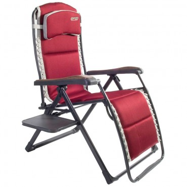 Quest Elite Bordeaux Pro Relaxer XL Chair with Side Tab