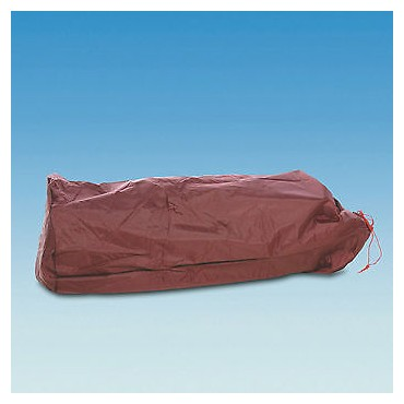 Awning Canvas Holdall Bag - Burgundy