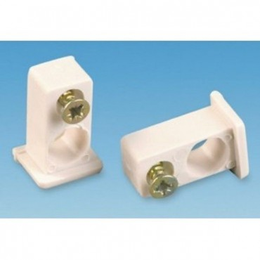 Swish Visa End Stops Curtain Fittings - Pack Of Two