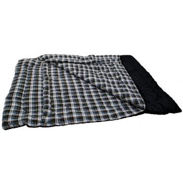 Quebec Double Sleeping Bag - Cozy Fleece Inner