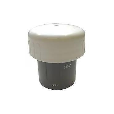 Thetford Toilet Float Measuring Cap / Dump Cap - White