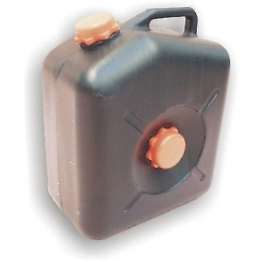 23 Litre Waste Jerry Can - Black