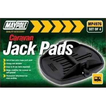 Caravan Feet - Extra Large -Jack Pads - Set of Four