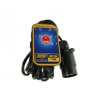 12N Towbar Socket Electrical Tester with 3.5m Cable