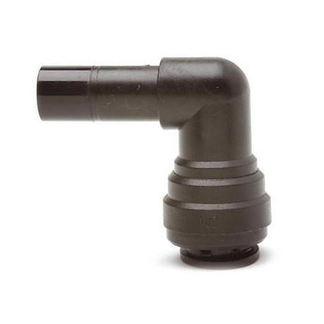 Caravan Push-Fit Stem Elbow 12mm