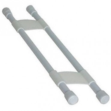 Large Cupboard Retaining Double Bars