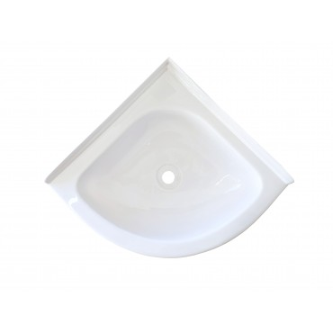 Mini Corner Basin - White