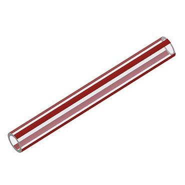 Push-Fit Red Water Hose / Tube Per Metre
