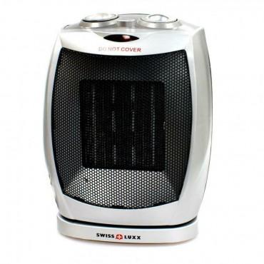 Swiss Lux Ceramic Oscillating Fan Heater 1500W