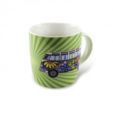 Volkswagen VW T1 Hippie Campervan China Tea / Coffee Mug