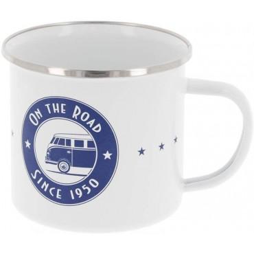 Volkswagen VW T1 Campervan Sturdy Enamel Tea / Coffee Mug