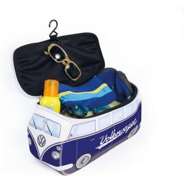 Volkswagen VW T1 Campervan Bus Neoprene Bag - Blue - Large