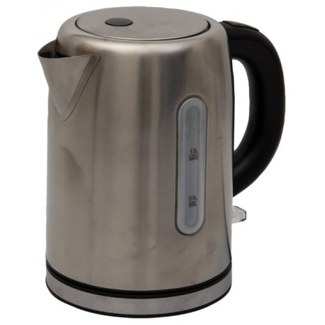 Quest Leisure 1.2L Low Wattage Stainless Steel Premium Kettle