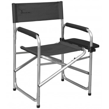 Isabella Director Chair with Table Grey
