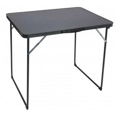 Quest Superlite Burford Black Edition Camping Table - 80 x 60 cm
