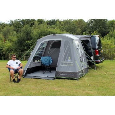 Cayman Cona Poled Low Driveaway Awning - 180-210cm - OR