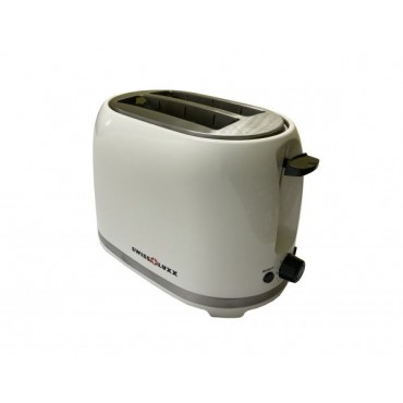 2 Slice Toaster Low Wattage deluxe White