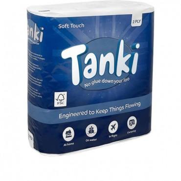 Tanki Plastic Free Toilet Rolls 9 Pack