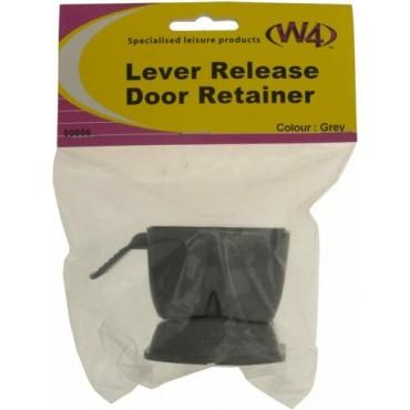 External Door Lever Release Retainer - Grey