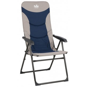 Royal Colonel Chair Blue/Silver
