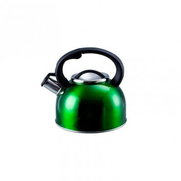 2.5  Whistling Kettle - Large 2.5 Litre Capacity - Green