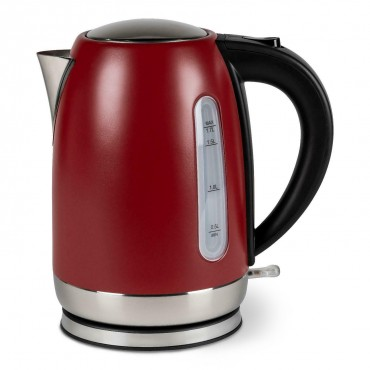 1.7L Low Wattage Kettle - Ember Red - Kampa Tempest