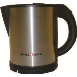 Lux 1Ltr Stainless Steel Low Wattage 650W Kettle