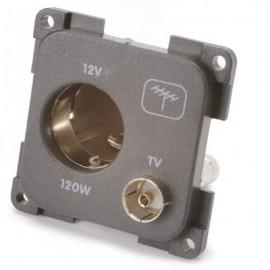 CBE 12v & TV Socket