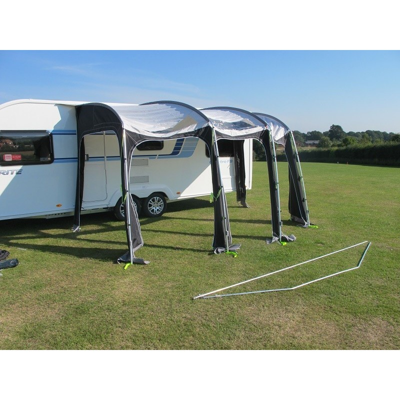 Kampa Rally Ace 400 Poled Large Caravan Porch Awning