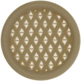 Push-In Vents - Pk 2 - Beige