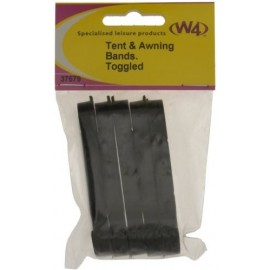 W4 Tent & Awning Bands - Toggled - Pk of 5