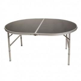 Lightweight Aluminium Folding Oval Picnic Table